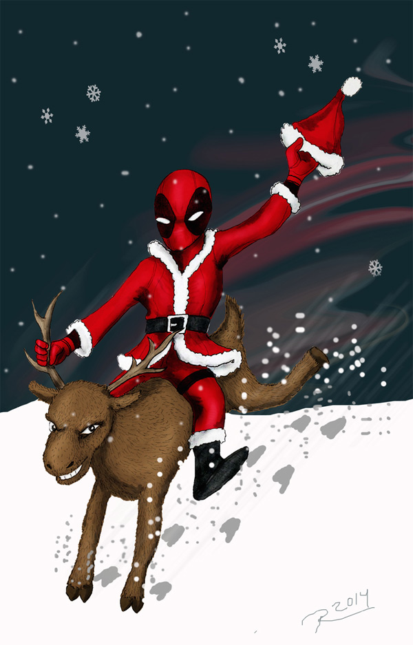 Deadpool Xmas Rodeo