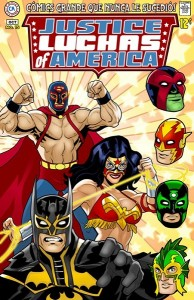 Justice Luchas of America by Rusty Shackles