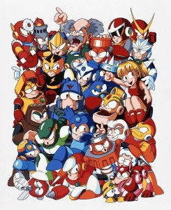Mega Man cast