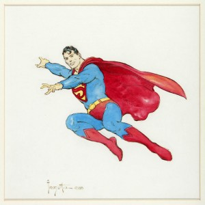 Superman by Frazetta