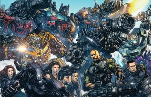 Transformers/G.I. Joe Heroes TFCon Print by James Raiz