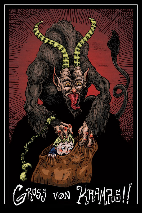 Krampus by Matt Bryan