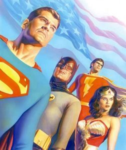 Age of TV Heroes by Alex Ross