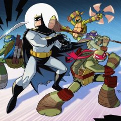 The Ninja Turtles Come to the DC Animated Universe