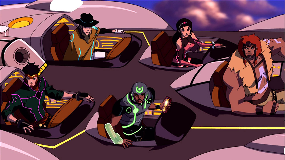 Young Justice: The New Gods of Supertown