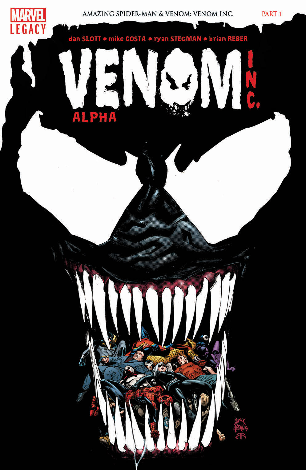 VENOM INC/ALPHA #1: VENOM INC PART 1