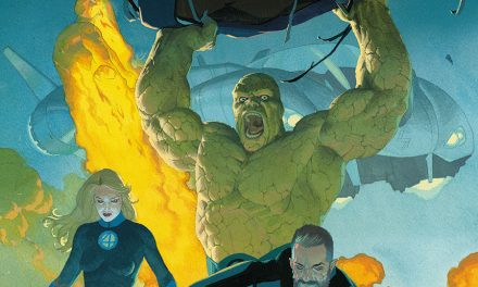 The Return of the Fantastic Four is Here – Issue #1 Cover