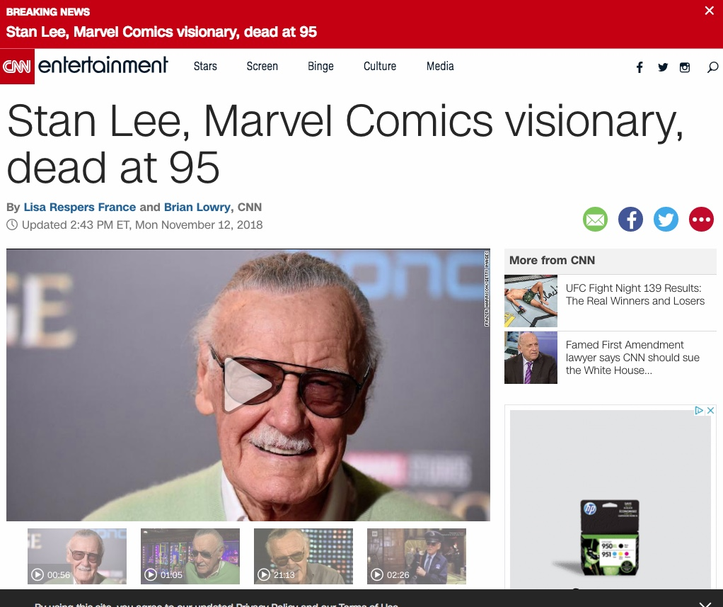 Stan Lee - CNN