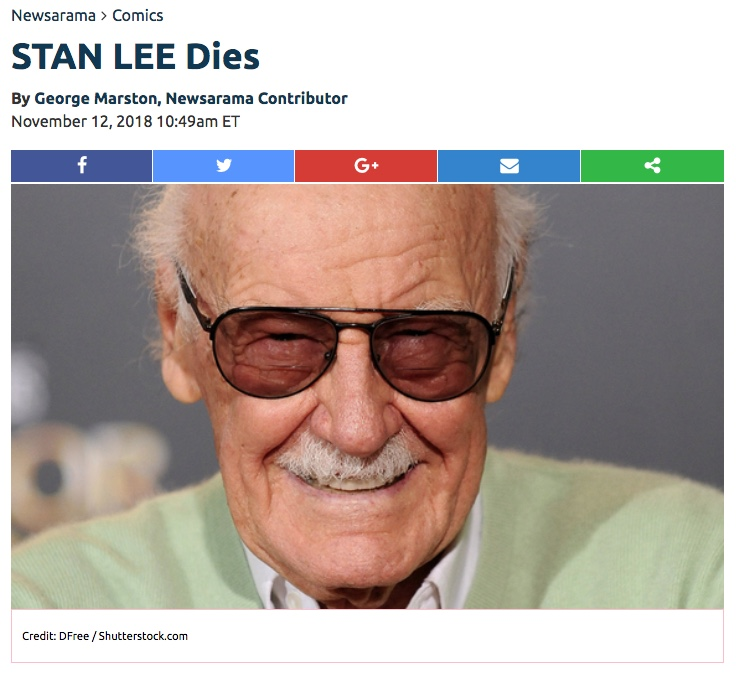 Stan Lee at Newsarama