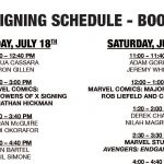 MARVEL ENTERTAINMENT UNVEILS 2019 SAN DIEGO COMIC-CON MARVEL BOOTH AND SIGNING SCHEDULES