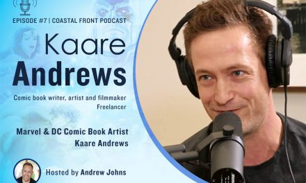 Host Andrew Johns Interviews Comic Book Artist Kaare Andrews