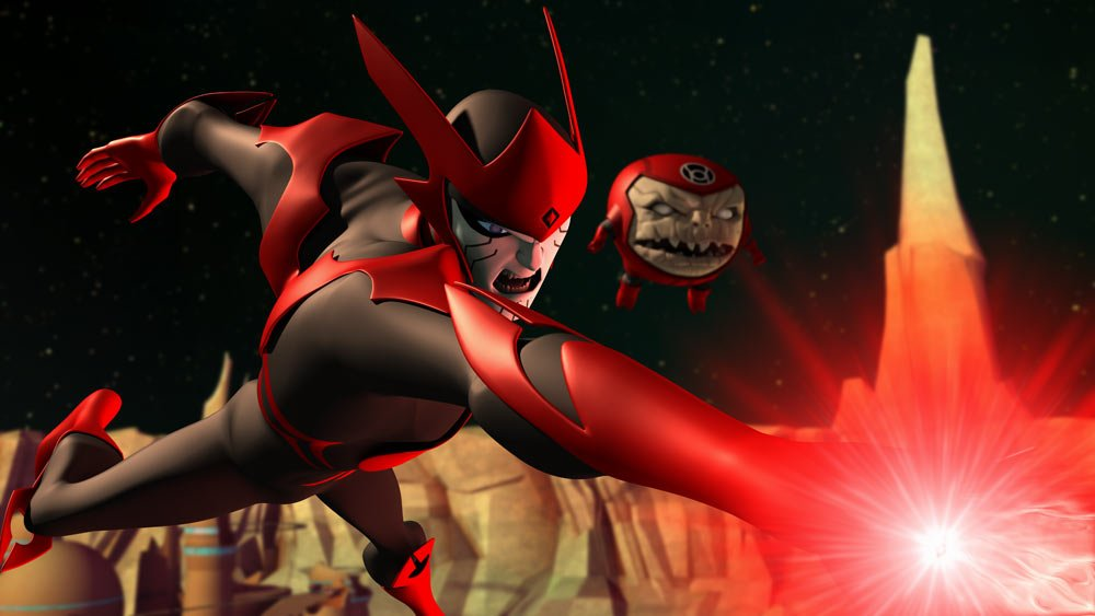 What is the Red Lantern Corps?
