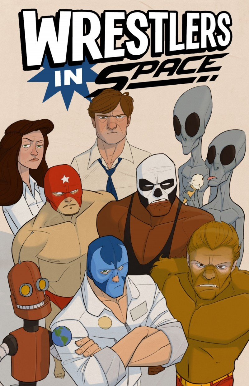 Wrestlers in Space: Interview with Nathanael Hopkins-Smith