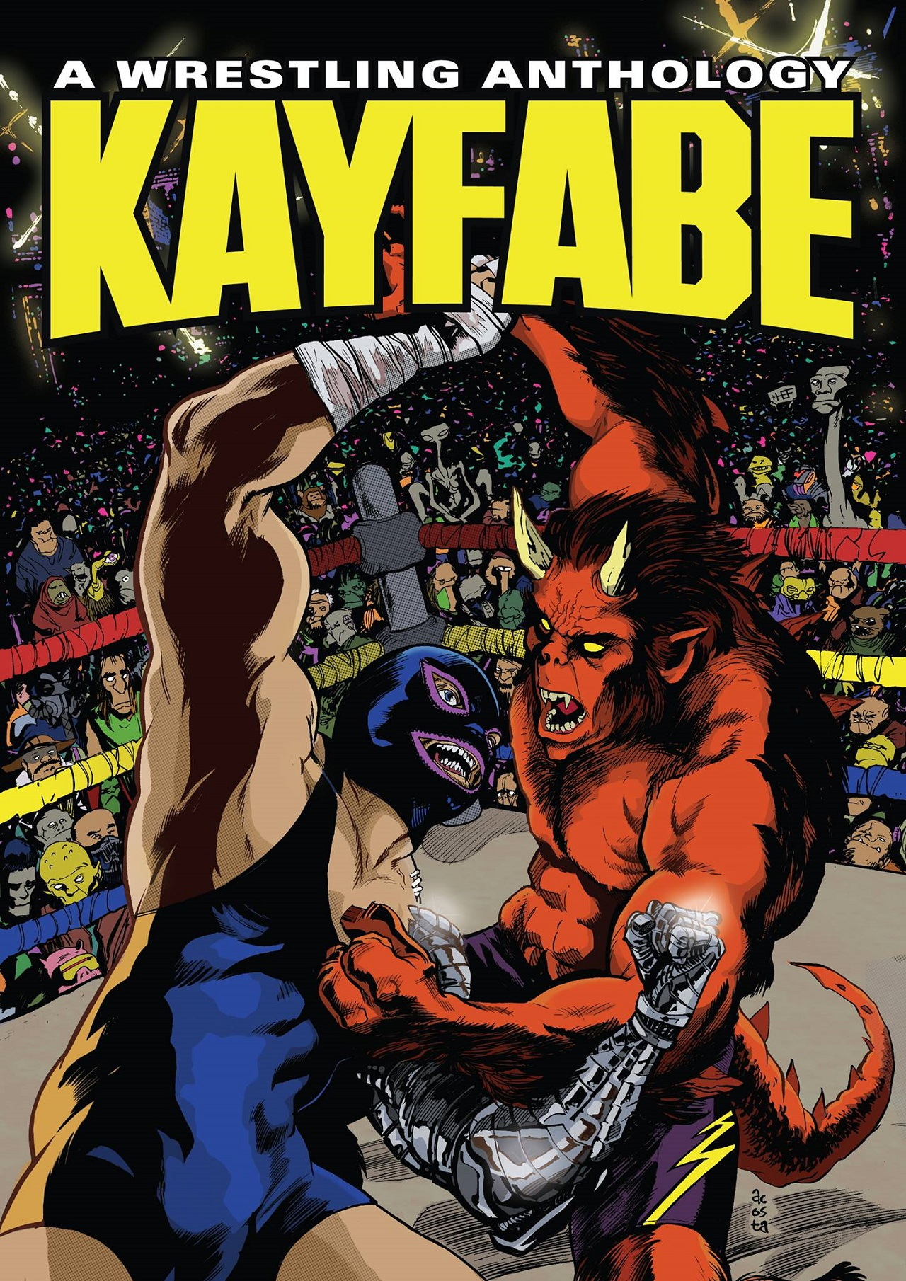 Review – Kayfabe: A Wrestling Anthology