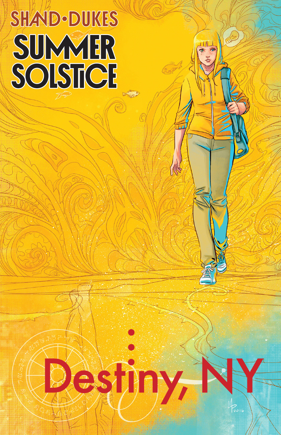 Destiny, NY Launches Free Spinoff Webcomic – Summer Solstice