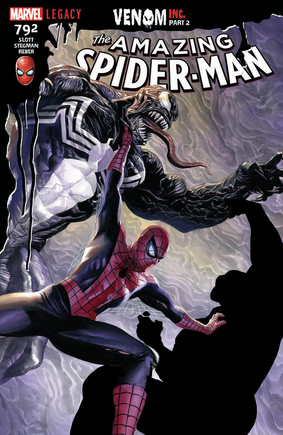 AMAZING SPIDER-MAN #792: VENOM INC PART 2