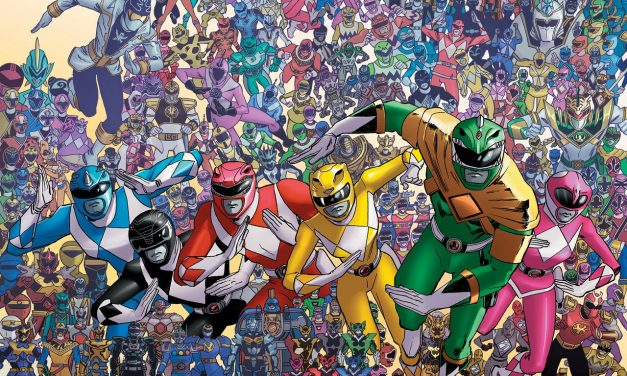 Power Rangers Turns 25