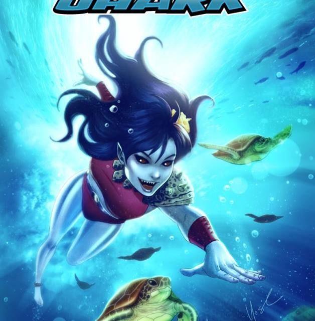 Sistah Shark #2 Kickstarter by Christopher Caravalho