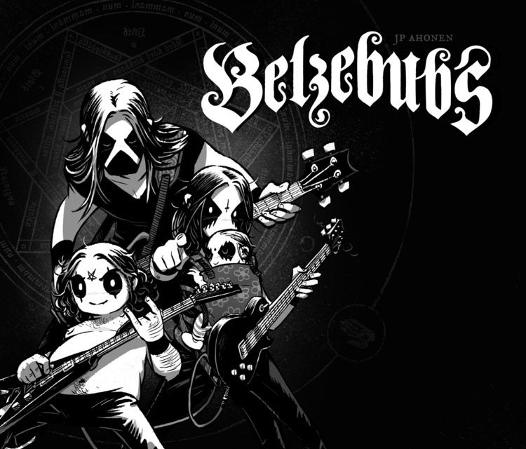 """BELZEBUBS: """"Calvin & Hobbes"""" meets """"Call of Cthulhu"""" in hit heavy-metal webcomic & more"""