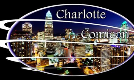 CHARLOTTE COMICON, DECEMBER 16, 10 am until 5 pm