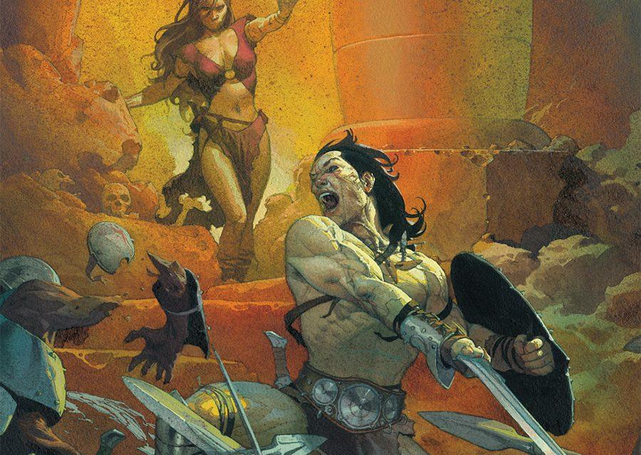 CONAN THE BARBARIAN Makes His Magnificent Return!