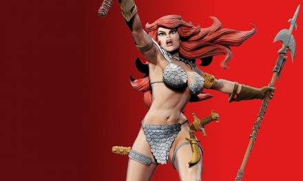 Red Sonja by Frank Thorne Statue Launches on Indiegogo