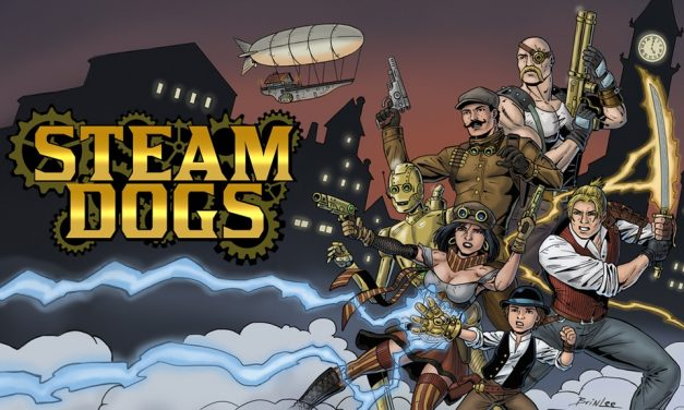 Steam Dogs – A Steampunk Comic of Action and Adventure Launches at Kickstarter